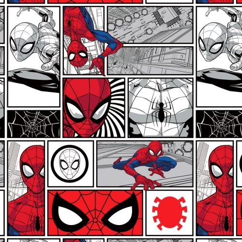 CAMELOT - Spiderman - Spider-Man Brickwork - White