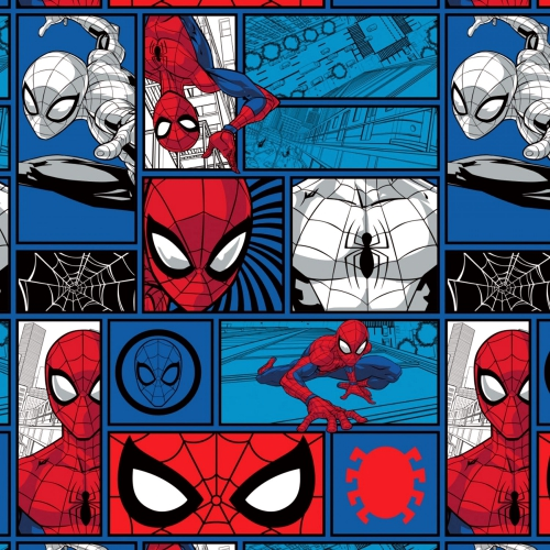 CAMELOT - Spiderman - Spider-Man Brickwork - Aqua