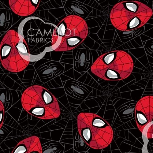 CAMELOT - Spiderman - Spider-Man Web - Black