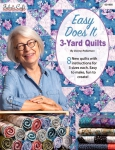 Easy Does It 3-Yard Quilts Booklet by Fabric Cafe/Donna Robertson