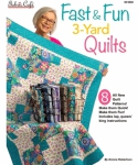 Fast & Fun 3-Yard Quilts Booklet by Fabric Cafe/Donna Robertson