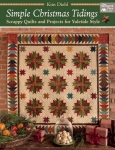 Simple Christmas Tidings Book by Kim Diehl