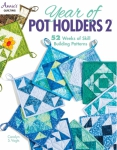 Year of Pot Holders 2 Book by Annie