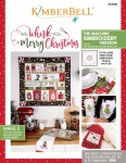We Whisk You A Merry Christmas Machine Embroidery Version Booklet by Kimberbell