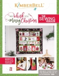 We Whisk You A Merry Christmas Sewing Version Booklet by Kimberbell