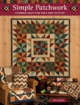 Simple Patchwork Quilt Book by Kim Diehl