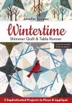 Wintertime Shimmer Quilt & Table Runner Booklet by Jennifer Sampou