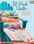12 Pack Quilts Book by Barbara Groves