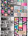 Tropical Trio Quilt Booklet by Doug Leko/Antler Quilt Design