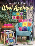 Whimsical Wool Applique Book by Kim Schaefer