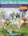 Quilt Block Genius Quilt Book