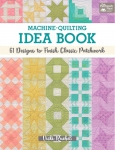 Machine - Quilting Idea Book by Vicki Ruebel