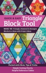 The Quick & Easy Triangle Block Tool Book by Sheila Christensen