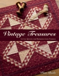 Vintage Treasures Quilt Book by Pam Buda