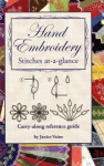 Hand Embroidery Stitches at-a-glance Booklet by Janice Vaine