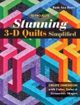 Stunning 3-D Quilts Simplified Book by Ruth Ann Berry