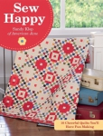 Sew Happy Quilt Book by Sandy Klop