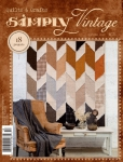 Quarterly Simply Vintage Magazine 36 by QuiltMania