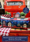Main Street Celebration Bench Pillow - KD5101 - ME by KimberBell