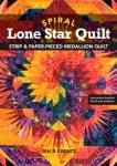 Spiral Lone Star Quilt Book by Jan P. Krentz