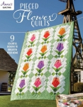 Pieced Flower Quilts Book by Annie