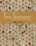 Tiny Treasures Miniature Hand Embroidery Designs Book by Kathy Schmitz