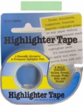 Removable Highlighter Tape - Green 1/2in x 11yds