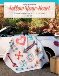 Follow Your Heart Quilt Book by Terry Atkinson