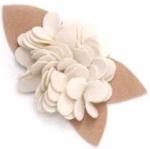 Burst Blossom Embellishment- Linen