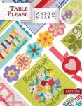 Art to Heart - Table Please Part One by Nancy Halvorsen