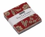 Vive La France Prints Mini Charm Pack by French General Moda Precuts