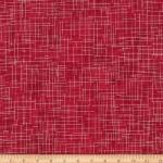 KAUFMAN - Quilter's Linen Metallic - Cardinal