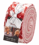 Roselyn Jelly Roll by Minick & Simpson Moda Precuts