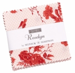 Roselyn Mini Charm Pack by Minick & Simpson Moda Precuts