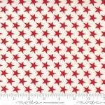MODA FABRICS - Belle Isle by Minick & Simpson - Cream Red