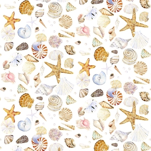 HENRY GLASS - Coastal Paradise - Sea Shells