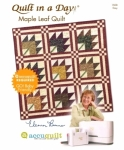 Maple Leaf Quilt: Eleanor Burns Signature Accuquilt Pattern