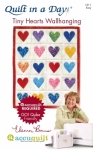 Tiny Hearts Wallhanging: Eleanor Burns Signature Accuquilt Pattern