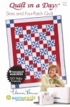 Stars and Four-Patch:  Eleanor Burns Signature Accuquilt Pattern