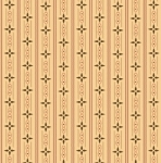 HENRY GLASS - Esthers Heirloom Shirtings - Cream Wallpaper Stripe