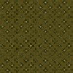 HENRY GLASS - Esthers Heirloom Shirtings - Green Patch Clusters