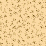 HENRY GLASS - Esthers Heirloom Shirtings - Cream Crescents
