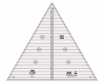 Free Bloom Pattern - Creative Grids 60 Degree Triangle Ruler - 12.5 Inch CGRT12560