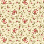BENARTEX - Homestead-Colonial - Rosette-Cream