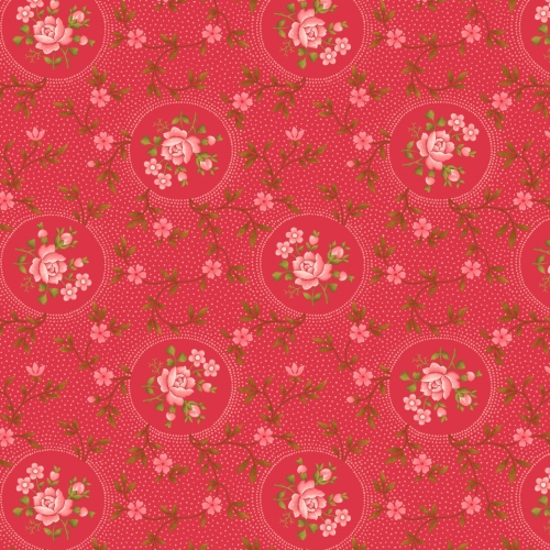BENARTEX - Homestead-Colonial - Rosette-Pink