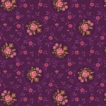BENARTEX -  Homestead Carriages - Rosette - Purple