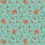BENARTEX - Homestead Carriage - Rosette - Turquoise