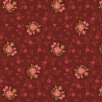 BENARTEX - Homestead-Colonial - Rosette - Burgundy