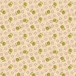 BENARTEX - Homestead Carriage - Blossom - Green/Cream