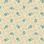 BENARTEX - Homestead - Country - Turquoise/Cream